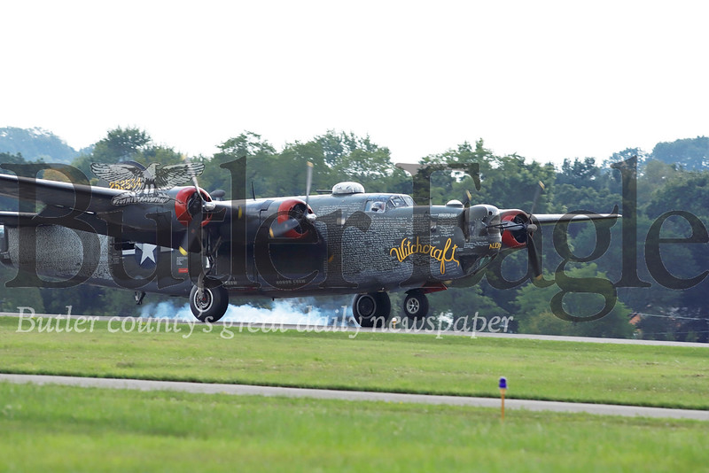 B-24 landing    Seb Foltz/Butler Eagle