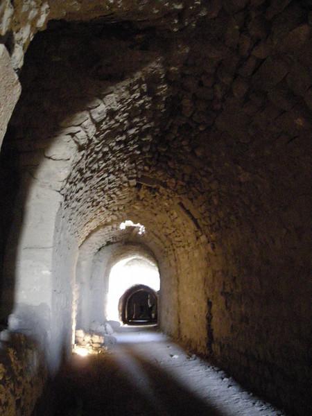 Inside the crusader castle at Karak, Jordan