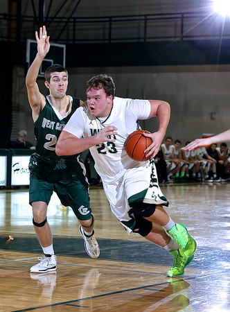 Zeeland West vs West Catholic Boys Basketball