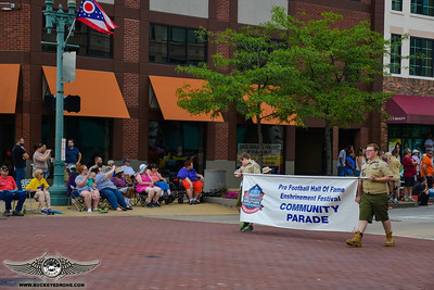 Community Parade - PFHOF - Enshrinement Festival