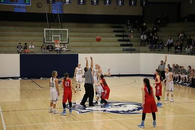 Varsity Ladies Basketball vs. Hutch Trinity 2017