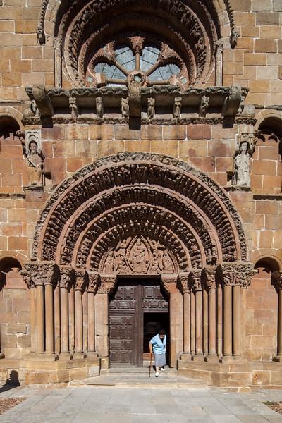 Santo Domingo church, Soria, Spain