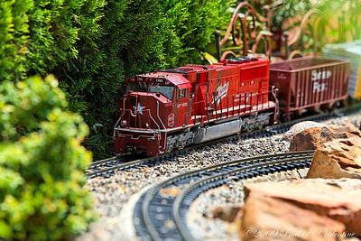 Clark Gardens Trains 08-11-09