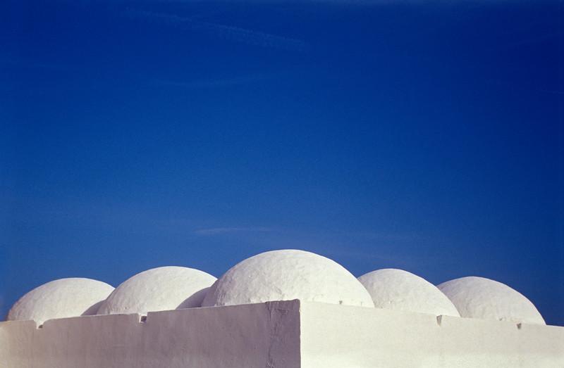 Domes of White-clay Mosque, Djerba