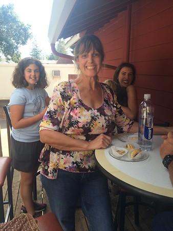Charlene's surprise visit 10/16