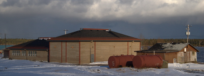 Webequie band office.