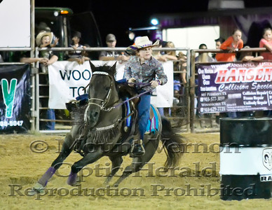 2016 Jr. Barrel Racing Saturday 9/3/2016