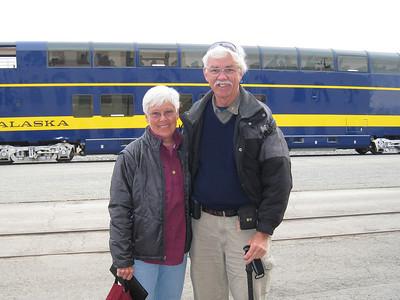 Alaska Gold Star Train to Delali