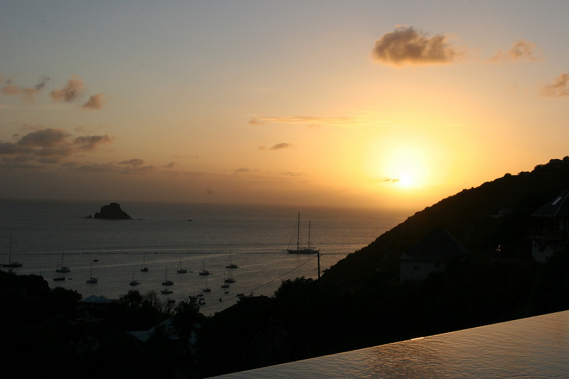 Saint Barth - Sunset From villa TEO