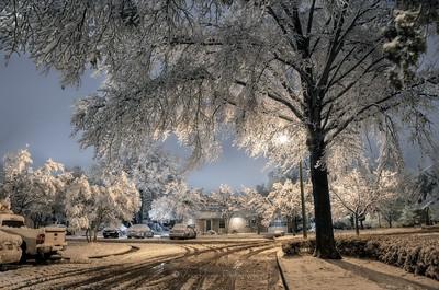 Snow long exposures 2015