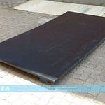 SKU: R-PVC/1325/30, 1300×2500×30mm Thickness Black PVC Board for Vacuum Surface Replacement