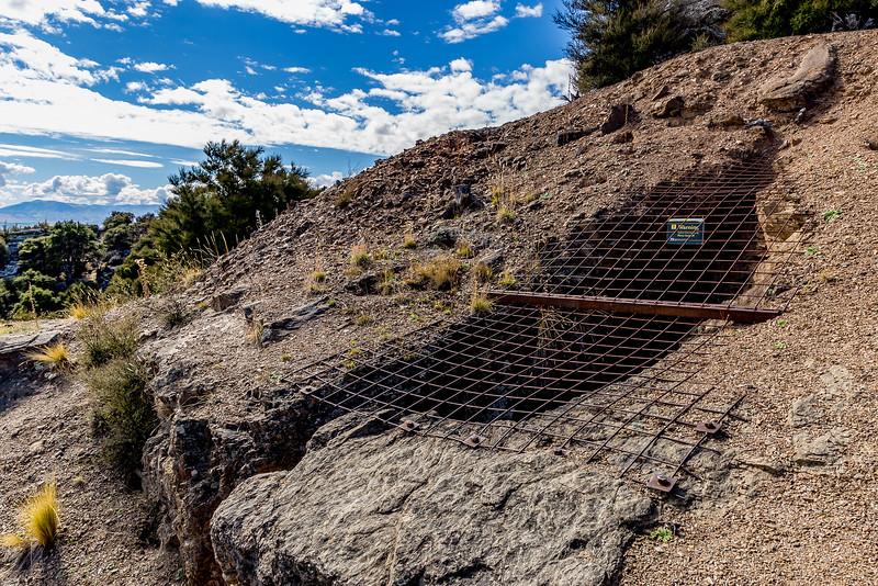 Goldmine Bendigo: Gesperrter Zugang zu einer Mine