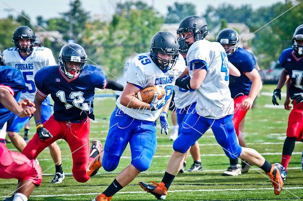 CCS football/cheerleading 2013
