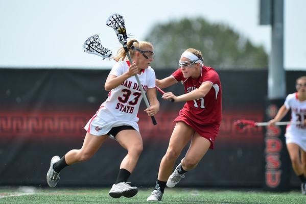 SDSU Women vs Stanford, 4-19-14