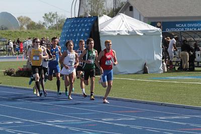 1500M Prelims, Men - 2014 NCAA II Outdoor T&F Championships