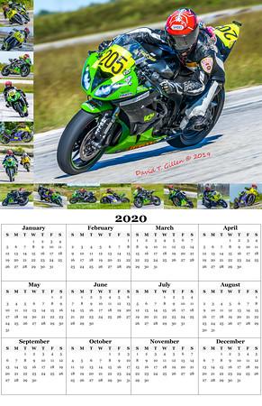 205 Sprint 2020 Calendar