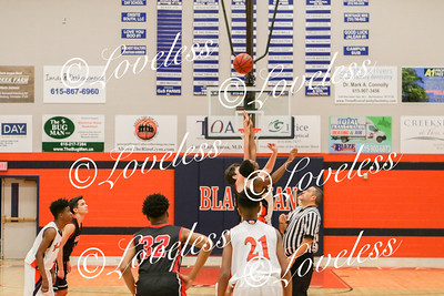 Freshman Bball vs Blackman 1/11/18