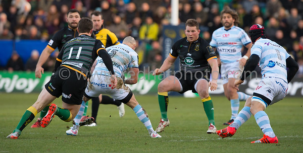 Northampton Saints vs Racing Metro 92, European Rugby Champions Cup, Franklin's Gardens, 24 January 2015