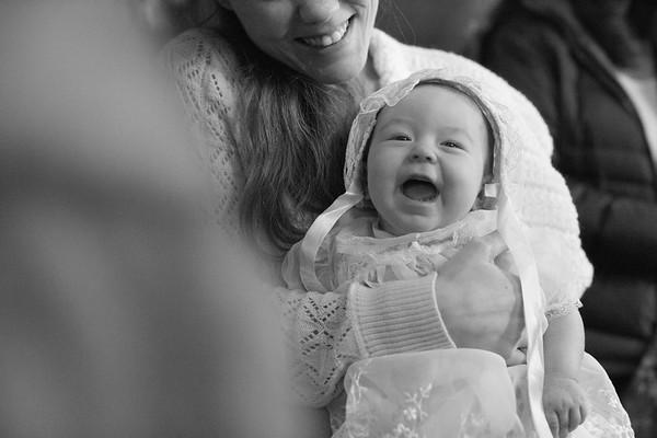 Grace Farnham's Baptism