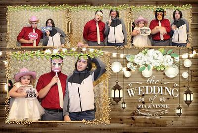 Caudillo Wedding Photobooth 11.17.2018
