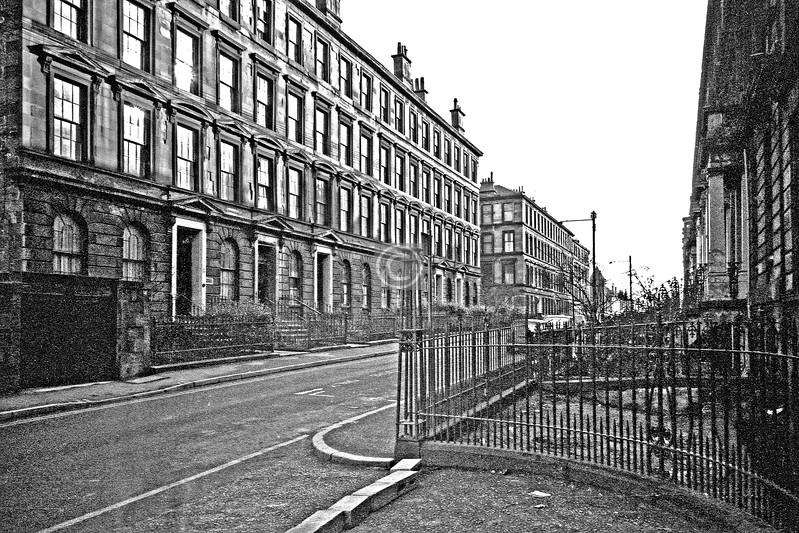 Hill St., north side east of Garnet St.   February 1976