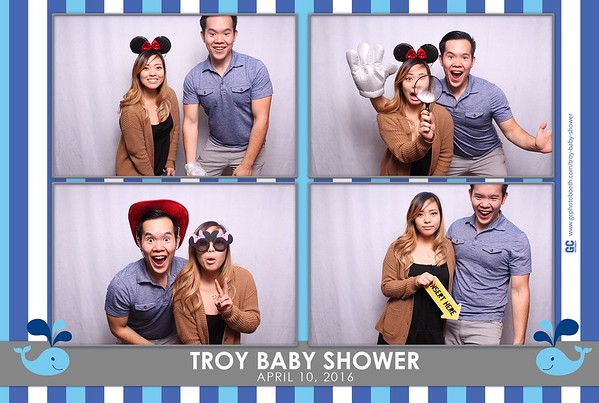 Troy's Baby Shower