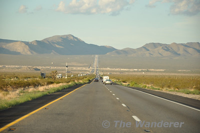USA Trip: Cajon Pass and Road Trip to Las Vegas