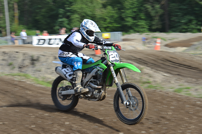Motocross Practice At Pacific Raceways