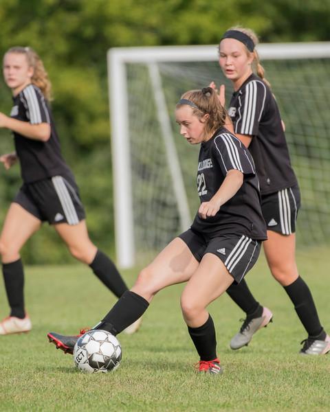 2019 Girls Soccer:  Hall-Dale vs Carrabec