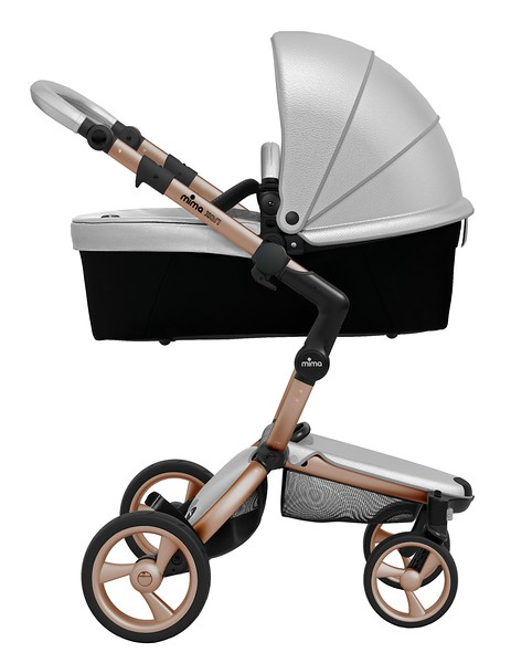 Mima_Xari_Product_Shot_Argento_Rose_Gold_Chassis_Black_Side_View_Carrycot.jpg