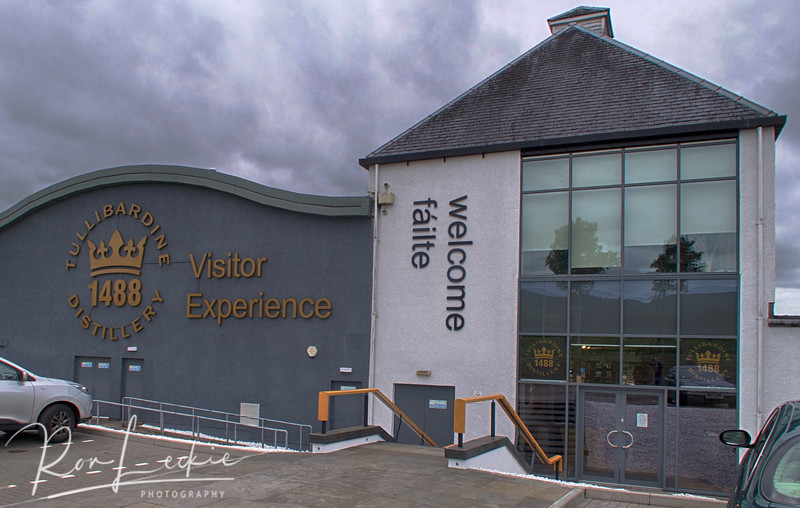 Tullibardine:   A re-built factory near Stirling - but not one of my favorite drams.