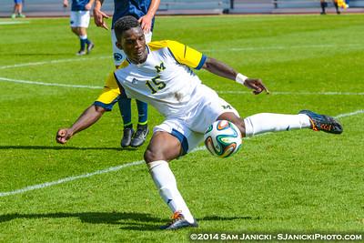 9-28-14 Michigan Men's Soccer Vs Penn State