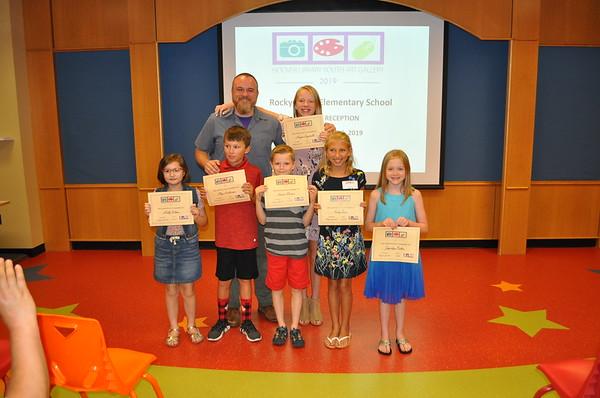 Rocky Ridge Elementary Artist Reception - July 2019