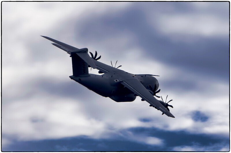A400M Test Flight, Toulouse