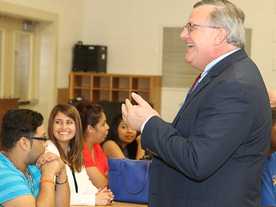 Cheney Elementary Staff Meets New Principal, Darrell Brown