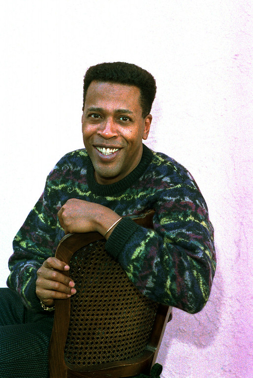 ". In this Jan. 30, 1989 file photo, actor Meshach Taylor poses during an interview in Los Angeles, Calif. Taylor\'s agent says the actor, who appeared in the hit sitcoms ""Designing Women\"" and \""Dave\'s World\"" died of cancer on Saturday, June 28, 2014, at his home in Los Angeles. He was 67. http://bit.ly/VNZ57N  (AP Photo/Nick Ut, File)"