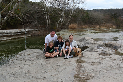 Family at Bull Creek