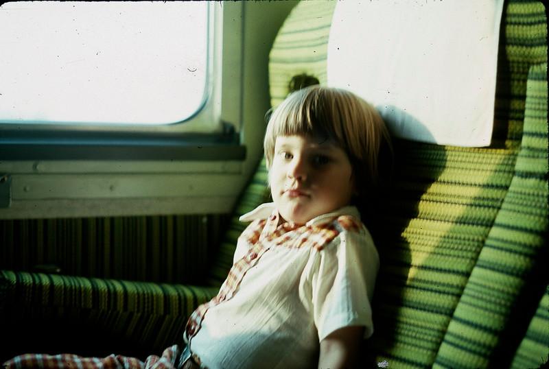 1977 05 Owen on train.jpg