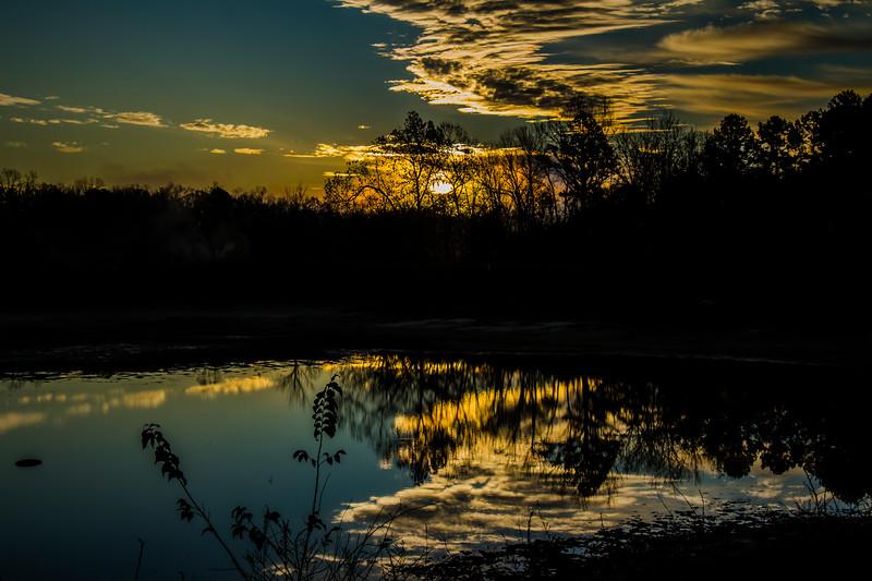 11.16.17 - Beaver Lake Fish Nursery: Sunrise