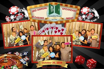 Alexandria House- Casino Night 10/26/2019