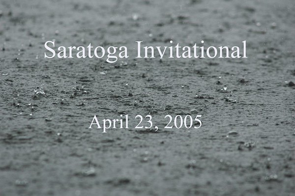Saratoga Invite April 23, 2005
