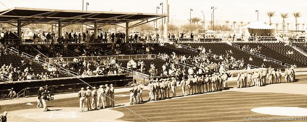 Spring Opener Indians v Reds 2011