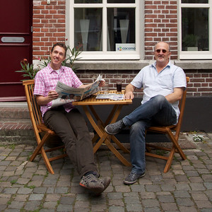 Thuis bij… Tejo van Doremalen & Maarten van Lieshout