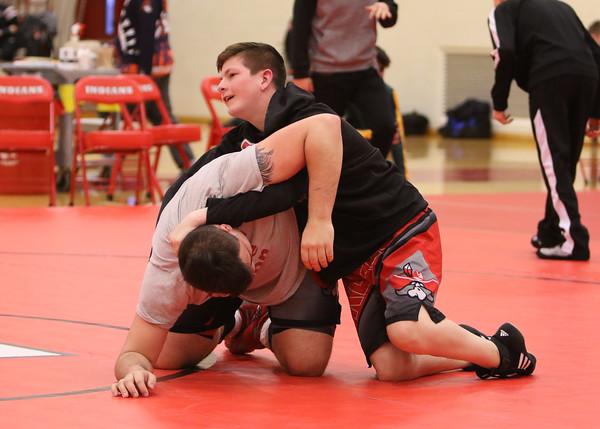 SNHS Wrestling vs Sectional 2020