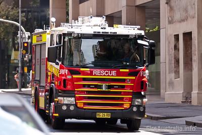 FRNSW - ME258 -Scania Rescue Pumper - 1 City of Sydney