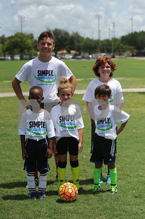 Simply Soccer Summer Camp 2017 Week 2