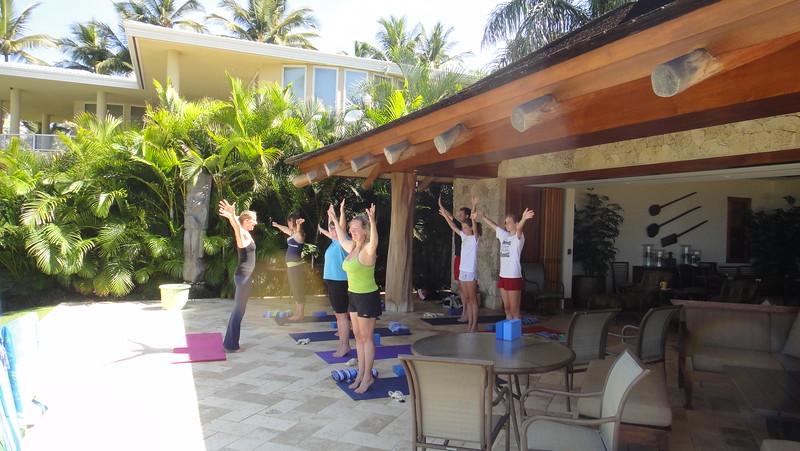 2011-08-12-0001-Maui with Hahns-Hale Ohia-Yoga with Alison Miller-Debby-ElaineH-Jenni Cooper-Elena Beaulieu-Elaine-Curtis.JPG