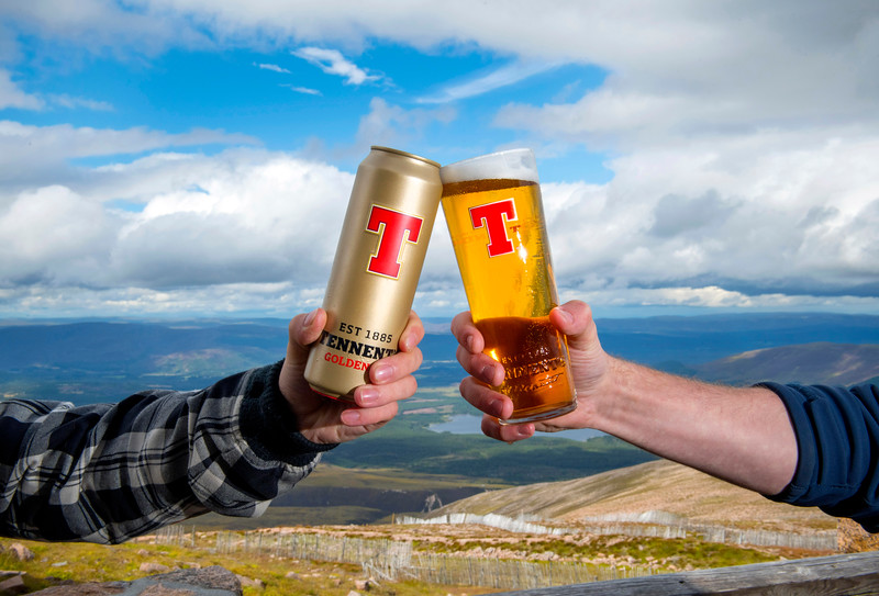 Tennents View pints campaign, The Ptarmigan – Cairngorm Mountain, Aviemore (Mountain view), Photo by Paul Chappells 07774730898