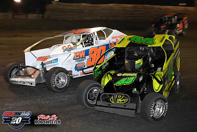 Volusia Speedway Park - Big Block Modifieds - 2/15/20 - Rob Sweeten