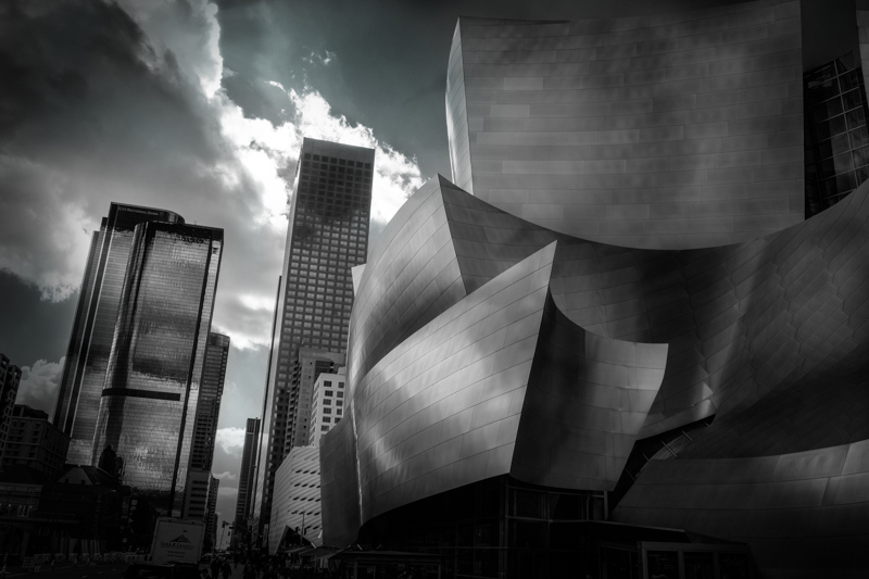 February 9 - Disney Hall and environs.jpg